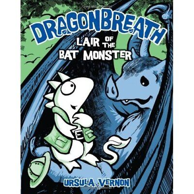 Dragonbreath: Lair of the Bat Monster: Lair of the Bat  - Hardcover NEW Ursula V