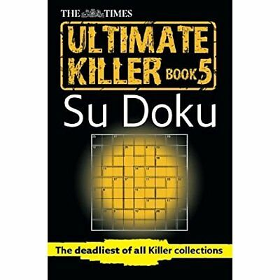 The Times Ultimate Killer Su Doku Book 5 - Paperback NEW Puzzler Media ( 2013-09