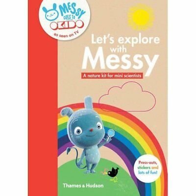 Let's Explore with Messy: A Nature Kit for Mini Scienti - Paperback NEW OKIDO (A
