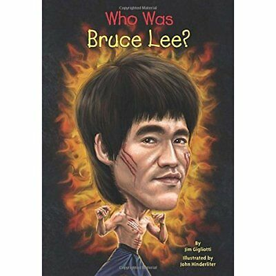 Who Was Bruce Lee? (Who Was...? (Paperback)) - Paperback NEW Jim Gigliotti(A 201