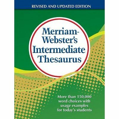Merriam-Webster's Intermediate Thesaurus - Hardcover NEW Inc., Merriam-W 2012-07
