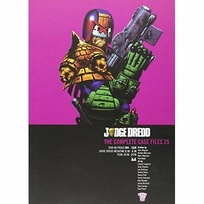 Judge Dredd: Casefiles 25 - Paperback NEW John Wagner (Au 2015-08-13