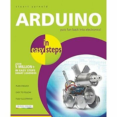 Arduino in easy steps - Paperback NEW Stuart Yarnold( 2015-03-17