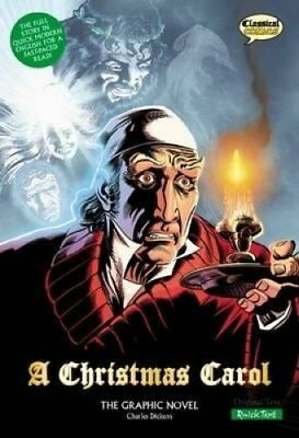 A Christmas Carol: Quick Text by Charles Dickens (Paperback, 2008)