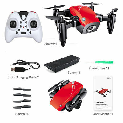 Mini 4-Axis Foldable S9 RC Quadcopter G-sensor Remote Control Helicopter Drone