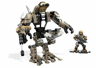 Halo Desert Sniper Cyclops Building Kit by Mega Construx DXF02 160pcs - New
