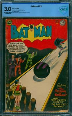 Batman # 83  The Testing of Batman !  CBCS 3.0 scarce Golden Age book !