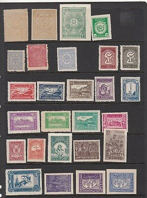 Afghanistan:1960s Collection of 61 stamps & 14 x perf.& Imperf. miniature sheets