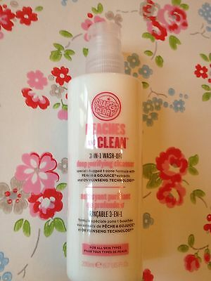 New   ⭐️soap And & Glory⭐️peaches And & Clean Face Wash Cleanser⭐️