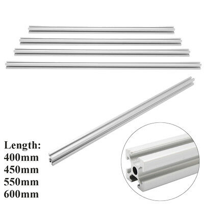 Aluminum T-slot Extruded Framing Profile 20x20mm Metric Series Length