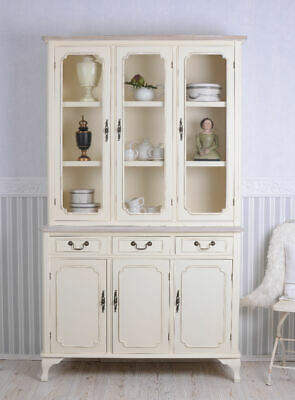 schrank shabby vertiko halbschrank weiss anrichte. Black Bedroom Furniture Sets. Home Design Ideas