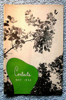 Eaton's Memorabilia Contacts Store News Booklet May1952 hfc2