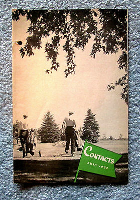 Eaton's Memorabilia Contacts Store News Booklet July 1952 hfc2