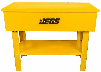 JEGS 40 Gallon Parts Washer With 24 Gallon Solvent Capacity & Electric Pump