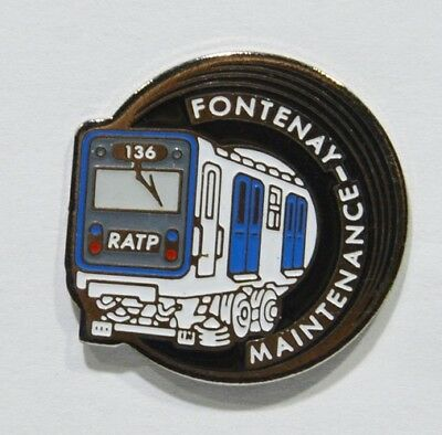 Pins Autobus Car Ratp Fontenay 94 Maintenance