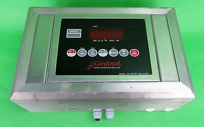 Cardinal Weight Indicator Model 205 Industrial Scales Warehouse Factory Weighing