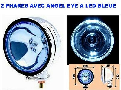 Promo! 2 Super Phares 16Cm A Led!  Type Lightforce Hella Oscar! Xenon Possible!