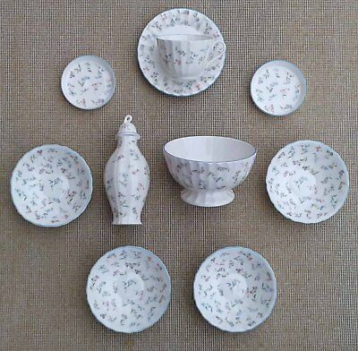 Royal Worcester - Forget Me Not - Selection Of Tableware u0026 Other Items. & ROYAL WORCESTER - Forget Me Not - Selection Of Tableware u0026 Other ...