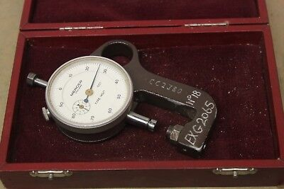 """Mercer Type 140/1 0 - 5/16"""" Dial Thickness Snap Gauge (.001"""") ME1411"""