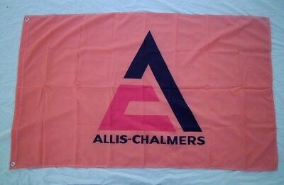 Allis Chalmers Tractor 3' X 5' Polyester Flag Banner Farm Equipment NEW # 327