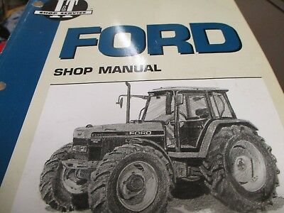FORD 5640 6640 7740 7840 8240 8340 Tractor electrical service manual ...