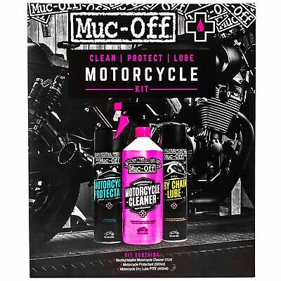 Muc-Off Clean Protect And Lube Bike Motorcycle MC Motorbike Kit - M672