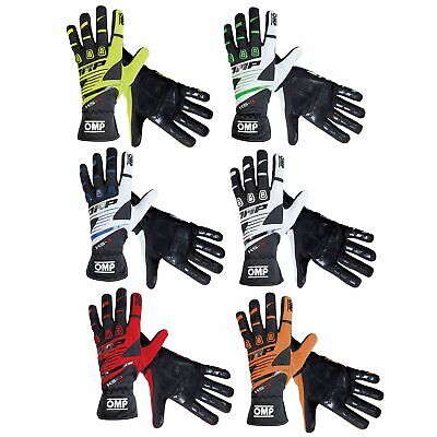 OMP KS-3 Kids Youth Children's Go-Kart Karting Race Racing Track Driving Gloves