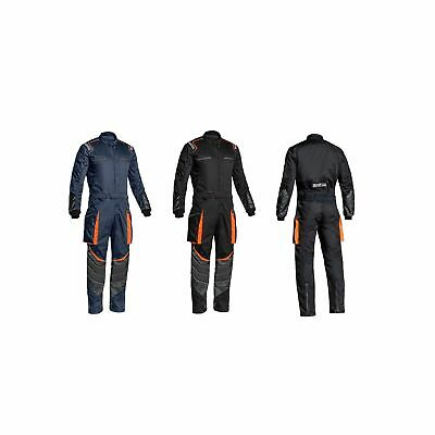 Sparco MS-7 Car Rally Racing Mechanics Garage Pit Paddock Cordura Overalls Suit