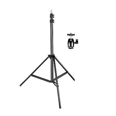 "Neewer 75"" Adjustable Light Stand with 1/4-inch Screw Tripod Mini Ball Head"