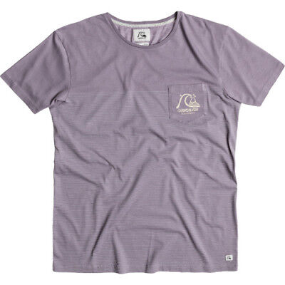 Quiksilver Modern Original Canon Fire Mens T-shirt - Grey Ridge All Sizes