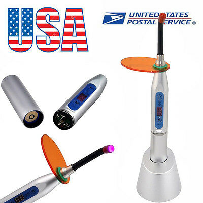 Dental 5W Wireless Cordless LED Curing Light Lamp 1500mW/cm²-- USA warehouse
