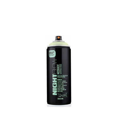 Montana Nightglow Spray Paint - Luminescent Glow In The Dark Paint - 400ml Can