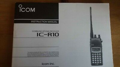genuine icom user manual icom ic r10 9 99 picclick uk rh picclick co uk icom 735 user manual icom instruction manual