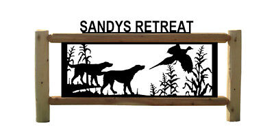 Personalized Pheasant Sign - Wild Birds - Irish Setters - Dogs - Hunting