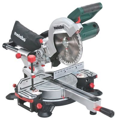 Metabo KGS216M 216mm Sliding Mitre Saw 110 Volt