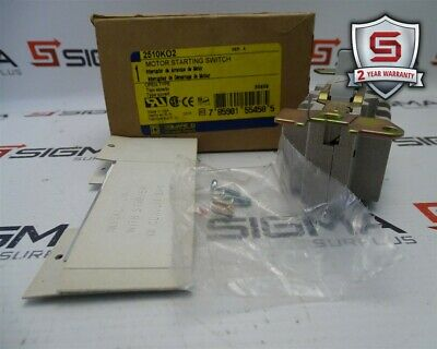 Square D 2510K02 Motor Starting Switch Series A  30A 3Pole 115-575VAC