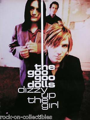 Goo Goo Dolls 98 Dizzy Up The Girl 2-Sided Original Promo Poster