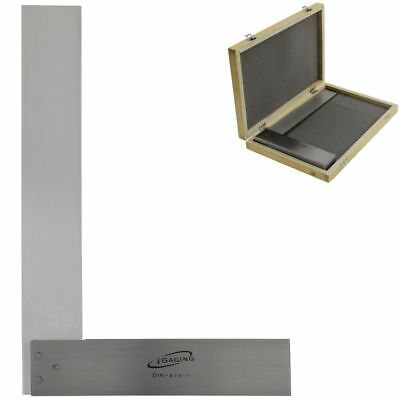 "12"" Machinist Square Precision Hardened Stainless Steel DIN 875 w/CASE"