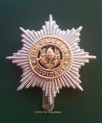 22nd (CHESHIRE) REGIMENT CAP BADGE (F&S)