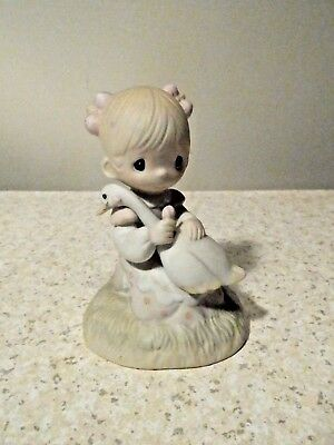 "Precious Moments Figurine ""god Is Love"" Excellent"