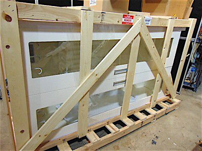 Mass Melamine Scope Cabinet SAS-B9M-HG - New In Crate - Holds 9 Scopes - S3028