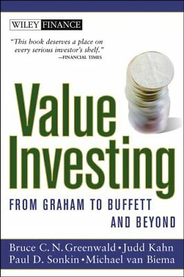 Value Investing From Graham to Buffett and Beyond 9780471463399
