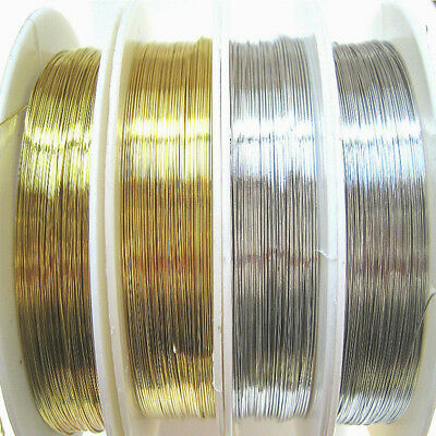 0.2-1mm Reel of Copper Wire Wirework Tiara DIY Crafts Jewellery Making 6 Sizes