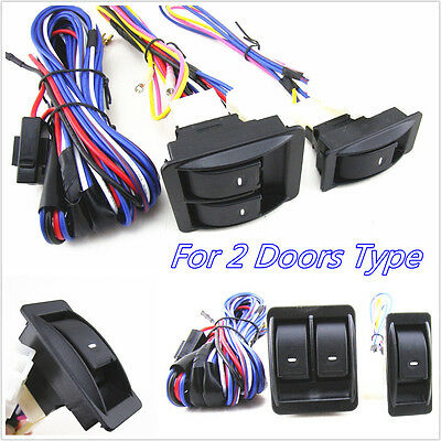 Practical 12V Autos Car Power Door Window Glass bobcat 7 170 531 door wiring harness 7170531 a770, s &t 450 870 Bobcat 7 Pin Wiring Diagram at mifinder.co