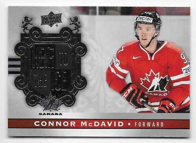 17/18 2017 UD TEAM CANADA HOCKEY HEIR TO THE ICE CARDS #141-160 U-Pick From List