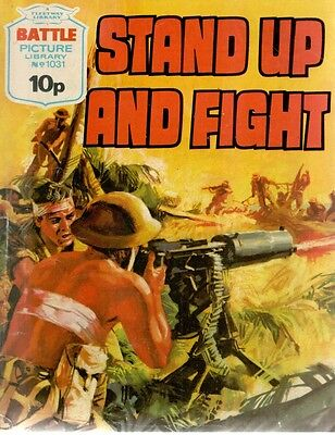 1976 No 1031 33459 Battle Picture Library  STAND UP AND FIGHT