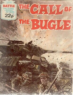 1981 No 1485 33471 Battle Picture Library  THE CALL OF THE BUGLE