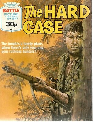 1983 No 1647 33738 Battle Picture Library  THE HARD CASE