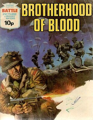 1977 No 1066 R33462  Battle Picture Library  BROTHERHOOD OF BLOOD