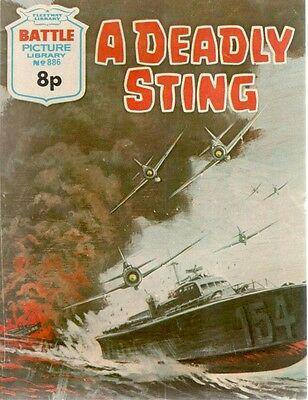 1975 No 886 33721 Battle Picture Library  A DEADLY STING